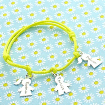 "Personalized bracelet ""My Sweeties"""