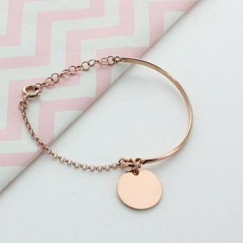 Half-bangle Bracelet Engravable