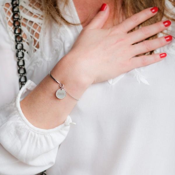 Half-bangle Bracelet Engravable