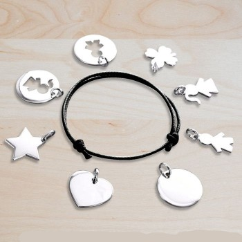 Create a Bracelet with Engraved Charms
