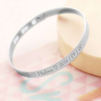 Mini Bangle to be Engraved for Child