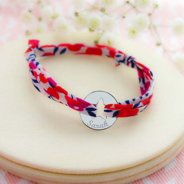 Liberty Bracelet with Personalised Star